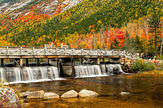 Willey Pond Bridge by Shell Ette