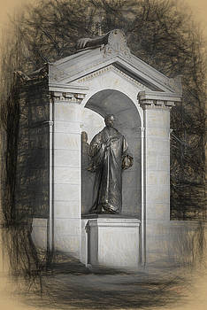 William Ellery Channing monument by Thomas Logan