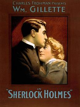 William Gillette in Sherlock Holme by Vintage Printery