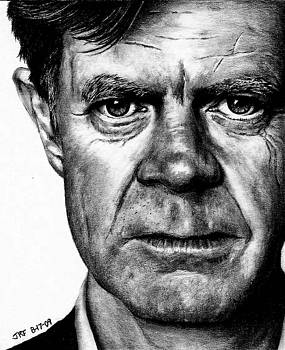 William H Macy by Rick Fortson