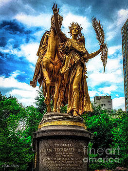 Julian Starks - William Tecumseh Sherman Statue #2