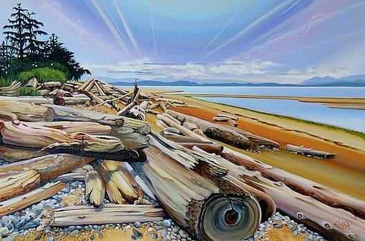 Winter's Harvest at Williams Beach by Elissa Anthony