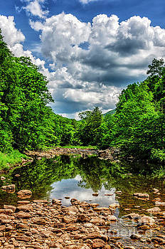 Williams River Clouds by Thomas R Fletcher
