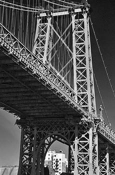 Williamsburg Bridge by David Cabana
