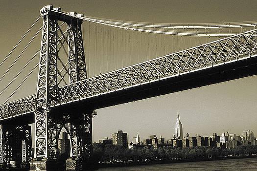 Art America Gallery Peter Potter - Old New York Photo - Williamsburg Bridge