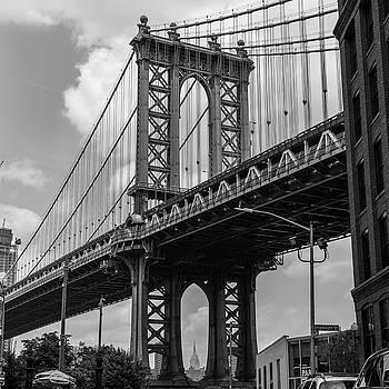 Williamsburg Bridge by Roderick Breem