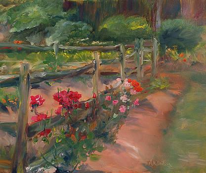 Williamsburg Roses by Ann Bailey