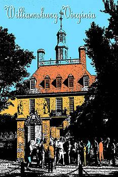 Art America Gallery Peter Potter - Williamsburg Virginia Poster