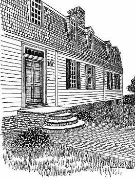 Williamsburg Virginia Restored District Home by Dawn Boyer