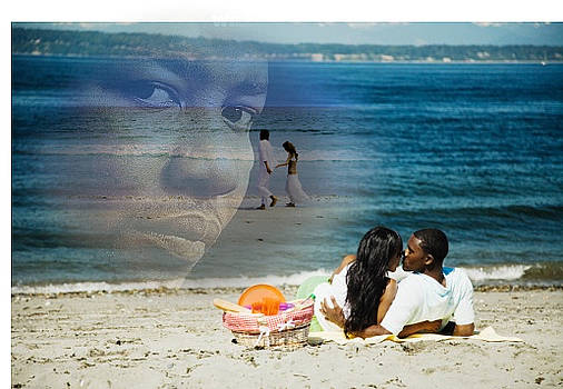 Willie Hutch And The Two Beach Couples Of Love by Alim Mosley