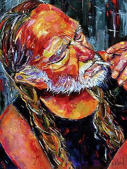 Willie Nelson Booger Red by Debra Hurd