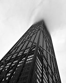 John Hancock Building Chicago in the Clouds by Lexi Heft