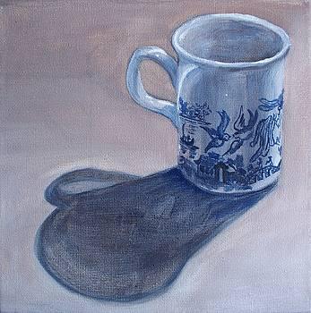 Willow Pattern Mug by Kellie Hogben