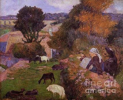 Gauguin - Willows