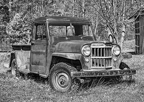Steve Harrington - Willys Jeep Pickup Truck 2 bw