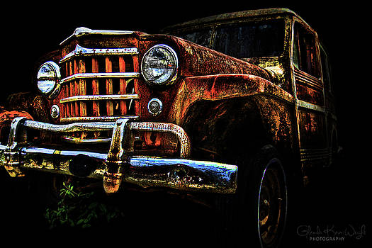 Willy's Station Wagon by Glenda Wright