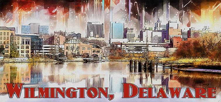 Wilmington City Lights by Kai Saarto