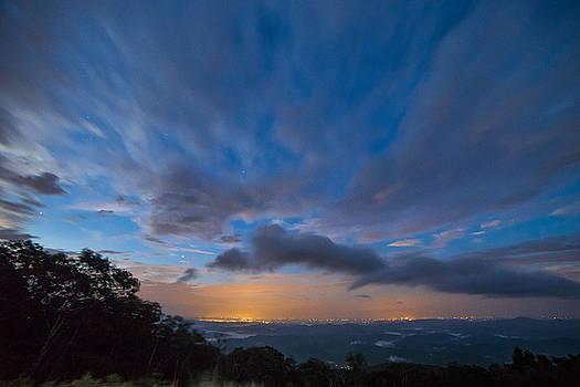 Wilson Creek Valley Overlook by Nick Noble