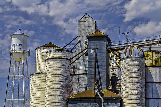 Wilson Grain Elevators by Steven Bateson