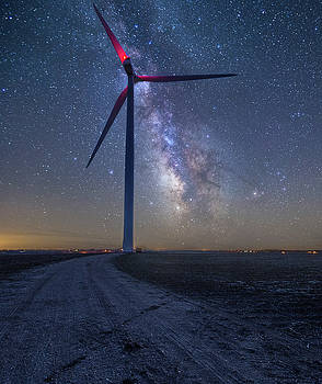 Wind  by Aaron J Groen
