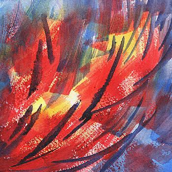 Irina Sztukowski - Wind And Fire Abstract Decor