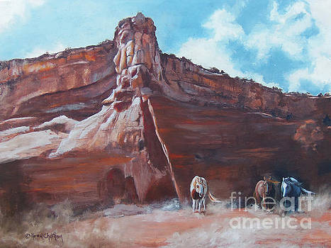 Wind Horse Canyon by Karen Kennedy Chatham