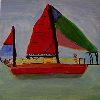 Wind In My Sails by Annie Dameron