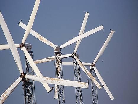 Wind Mills 102 by Maggie Cruser