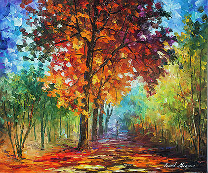 Wind Of Passion by Leonid Afremov