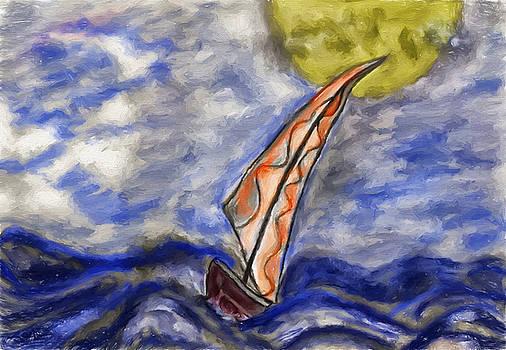 Wind On The Sea by Nabil REJAIBI