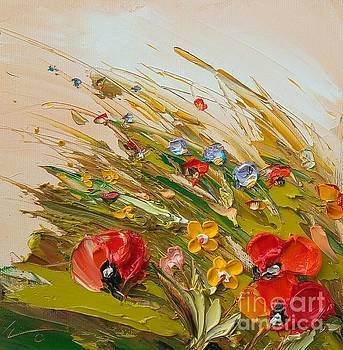 Wind Poppies  by Ivailo Georgiev