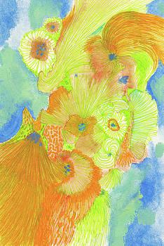 Wind - #SS18DW013 by Satomi Sugimoto