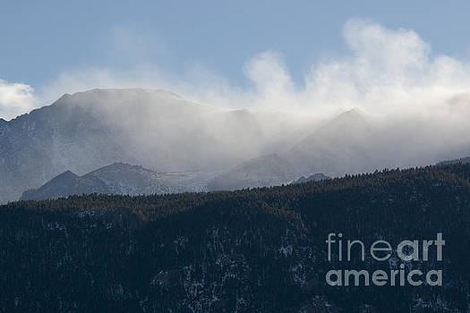 Steve Krull - Wind Storm on Pikes Peak Colorado