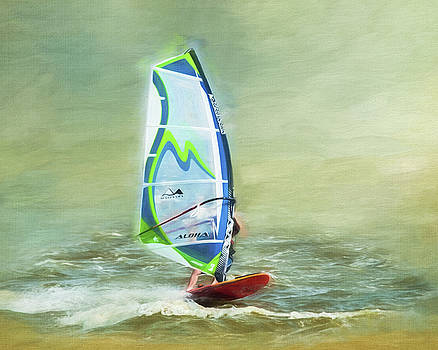 Wind Surfing by Cathy Kovarik