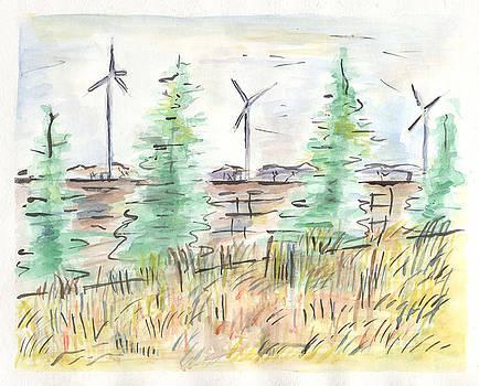 Wind Turbines by Matt Gaudian