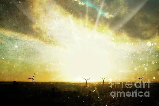 Wind Turbines by Terri Waters