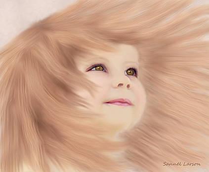 Sannel Larson - Windblown Child