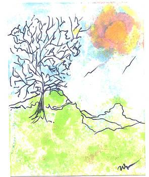 Windblown Two by Wayne Potrafka