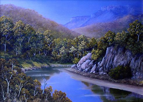 Winding River by John Cocoris