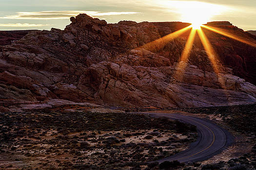 Winding Road by James Marvin Phelps