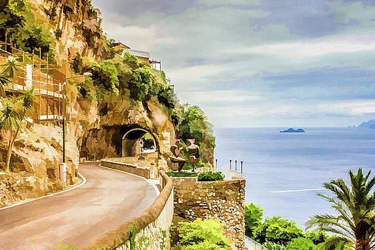 Lisa Lemmons-Powers - Winding Road on Amalfi Coast