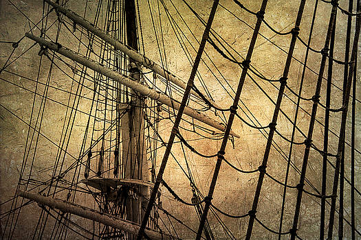 Windjammer Rigging by Fred LeBlanc
