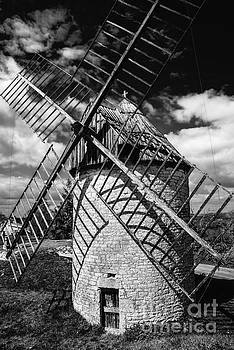 Windmill Castelnau by Tony Priestley