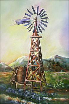 Windmill  by Khatuna Buzzell