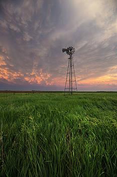 Windmill Mammatus by Aaron J Groen