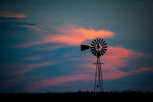 Jeff Phillippi - Windmill Sunset