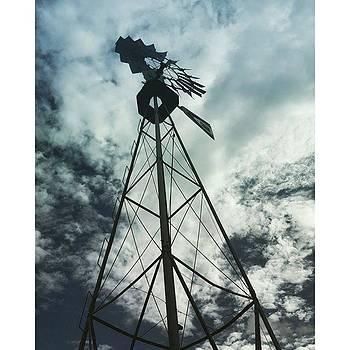 Texas Windmill by Elle Wanderluster
