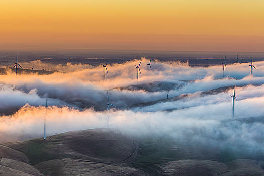 Marc Crumpler - windmills and hills
