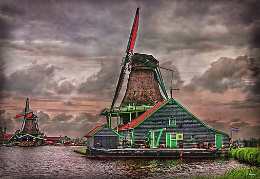 Windmills by Hanny Heim