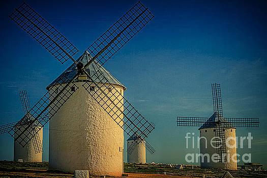 Heiko Koehrer-Wagner - Windmills under blue sky